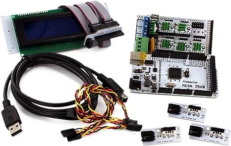 BQ RAMPS 1.4 - Kit de electrónica RAMPS 1.4 con Pantalla LCD y ...