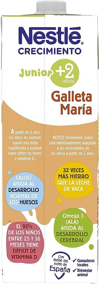 Nestlé Junior Crecimiento 2+galleta María Leche para niños a ...