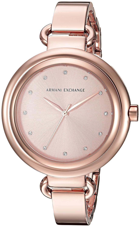 b6413df8 Armani Exchange Women's AX4241 Rose Gold Watch