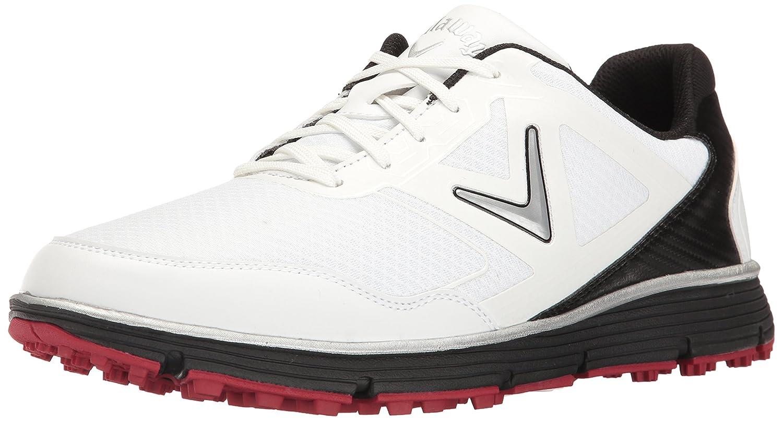 Callaway Men's Balboa Vent Golf Shoe B01M21AC9E 11 2E US|White/Black