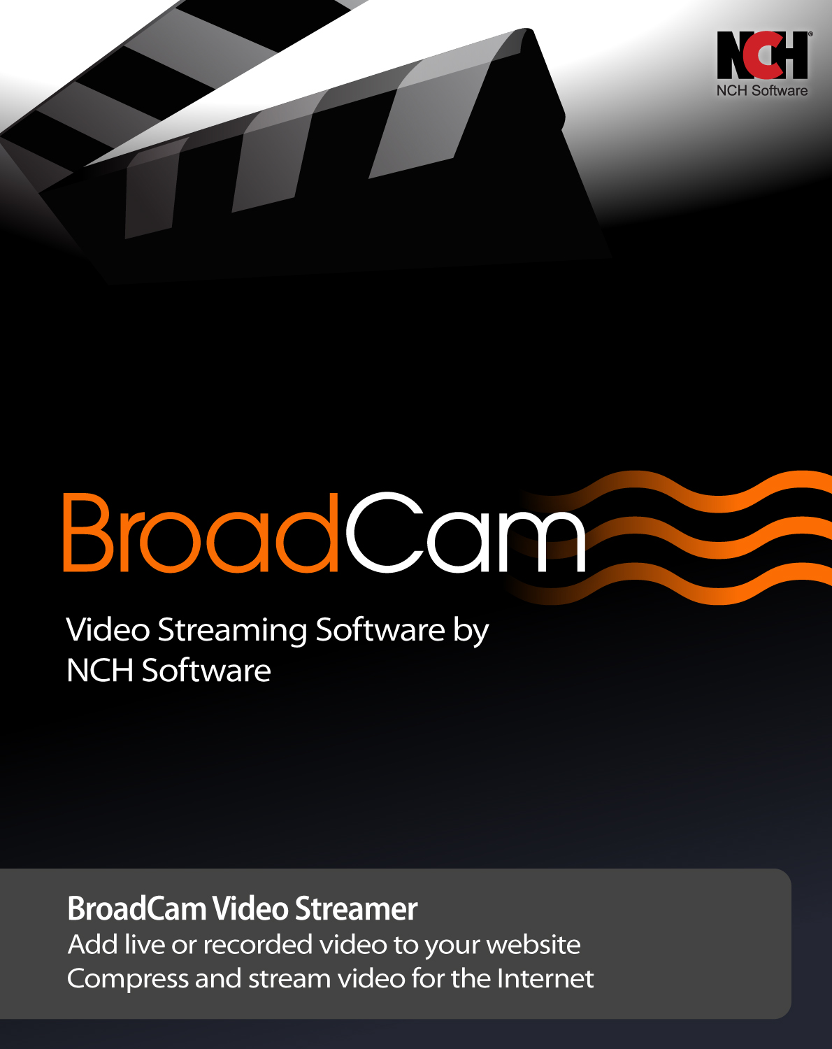 BroadCam Streaming Video Server Software product image