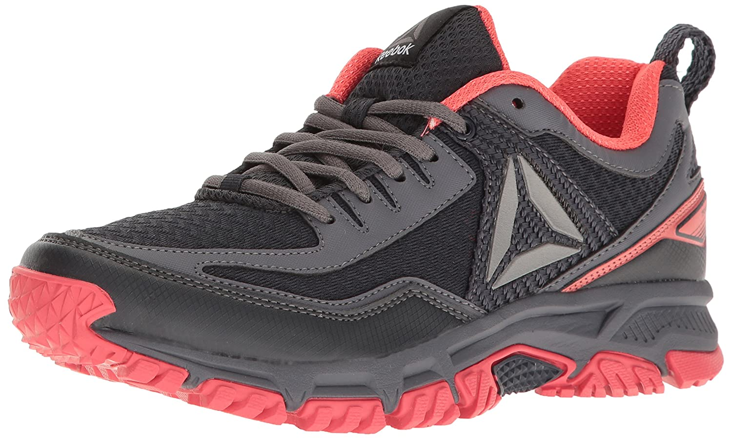 Reebok Women's Ridgerider 2.0 Trail Runner B01I0CASCE 5 M US|Lead/Fire Coral/Ash Grey/Pewter