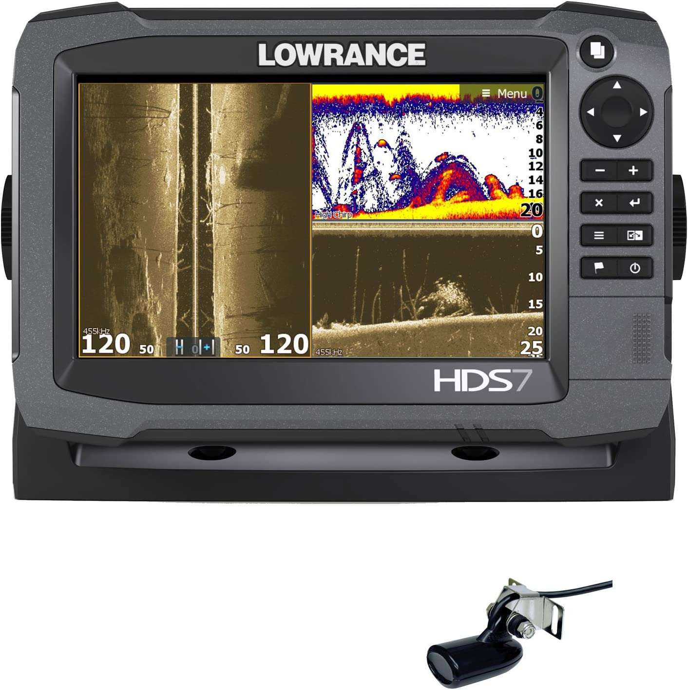 Lowrance HDS-7 Gen3 + Transductor 83/200 KHz + Transductor ...
