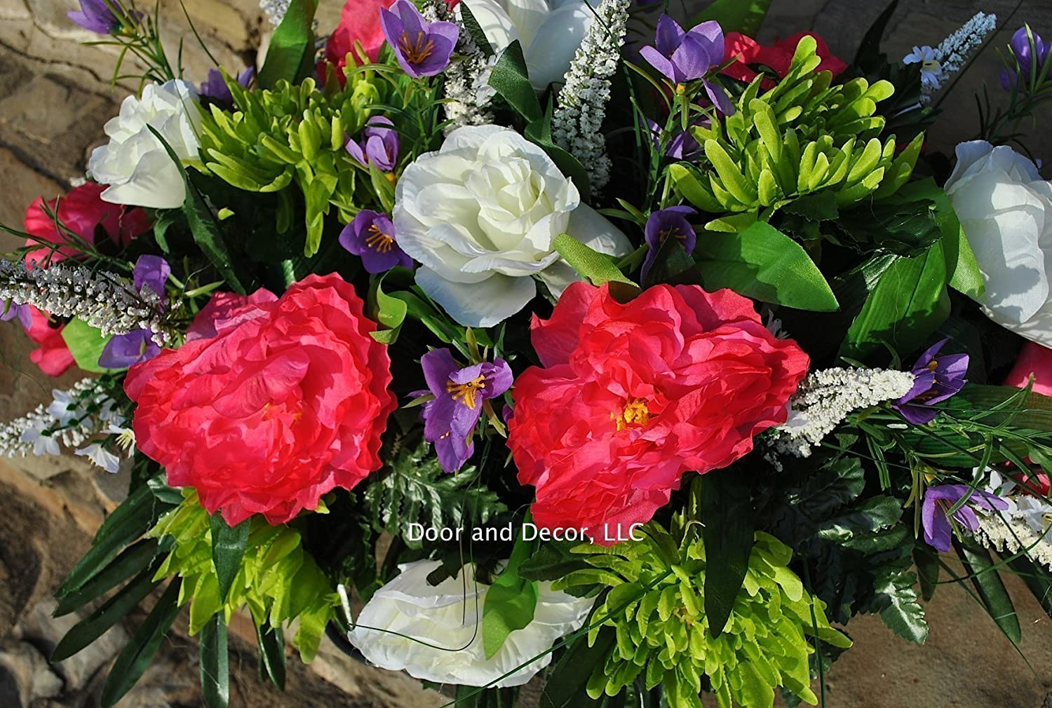 Amazon Spring Cemetery Flowers For Headstone And Grave