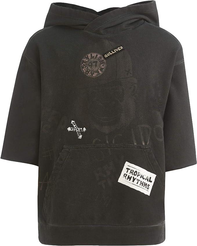 manga corta, para 8-13 a/ños, 134-164 cm dise/ño de rayas GULLIVER color blanco Camiseta para ni/ña