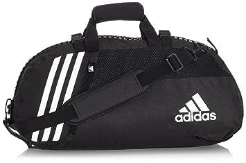 a324f1fb3f adidas Sac de Sport dans Une Fermeture éclair-up Noir Noir Noir/Blanc 55