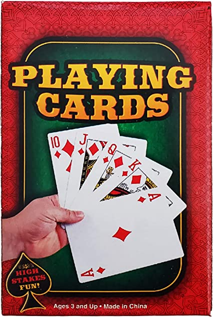 Deck of Cards Pretend Play Dress Up Set Kit Magic Wand White Gloves The Dreidel Company Magician Hat
