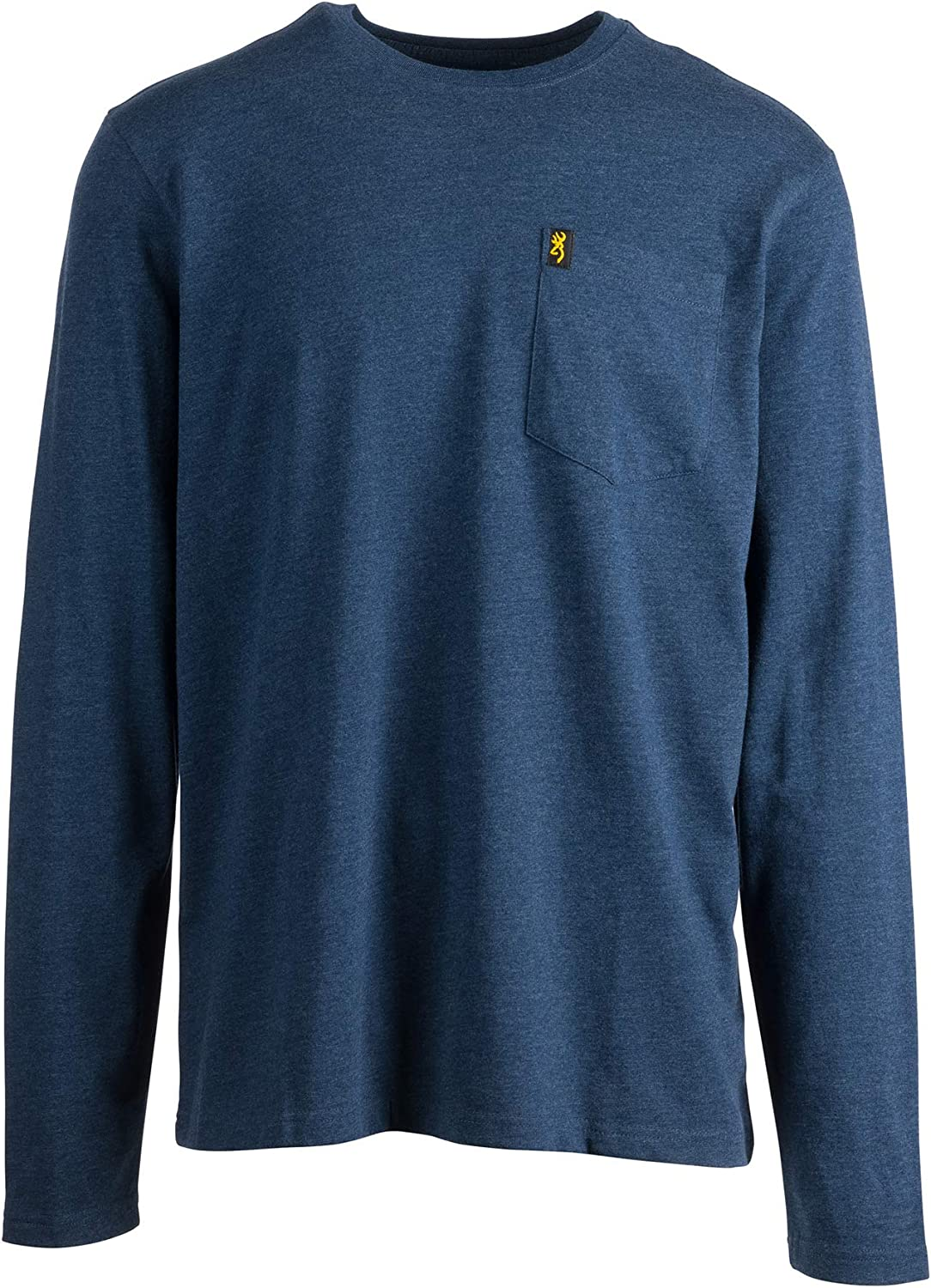 Browning Mens Long Sleeve Pocket Tee T-Shirt