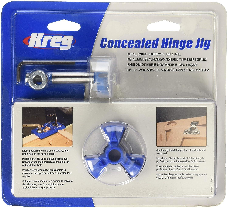 Kreg KHI-Hinge-INT Hardware Jig, Blue Kreg Tool Company