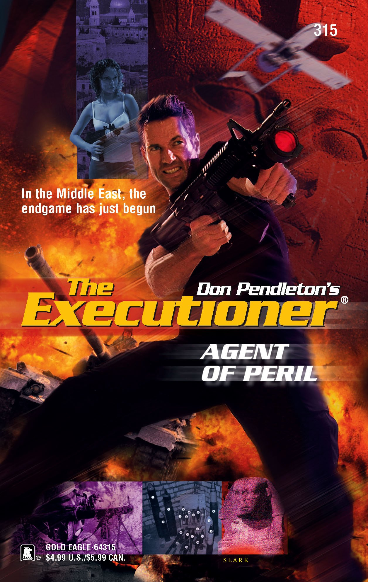 Agent of Peril (Executioner): Amazon.co.uk: Don Pendleton: 9780373643158:  Books
