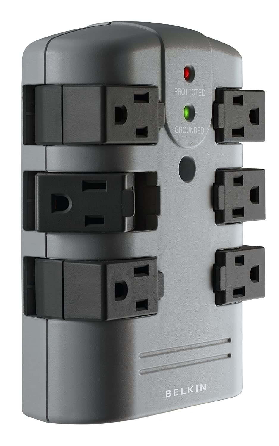 81fr35ebK7L._SL1500_ amazon com belkin 6 outlet pivot plug wall mount power strip surge protector fuse box at soozxer.org