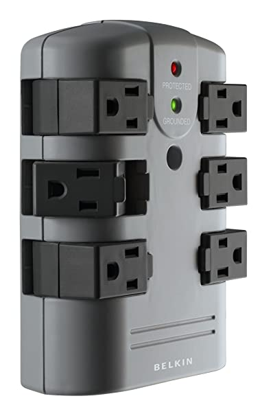 Review Belkin 6-Outlet Pivot-Plug Wall