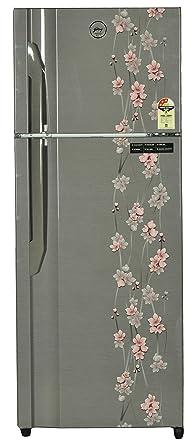 Godrej 331 L 3 Star ( 2019 ) Frost Free Double Door Refrigerator(RT EON 331 P 3.4, Silver)