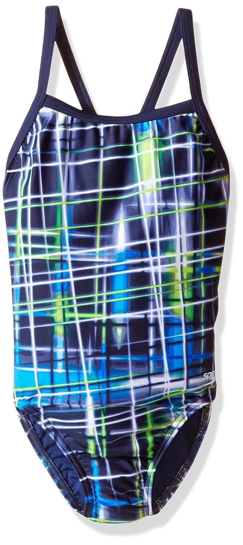 【大注目】 Speedo B01G74VB0U 6/22 Girls Powerflex EcoレーザーSticksパルスBack Swimsuit Swimsuit B01G74VB0U ブルー/グリーン Size 6/22 Size 6/22 ブルー/グリーン, 御馳走マート (有限会社玄洋社):3dbfb056 --- svecha37.ru