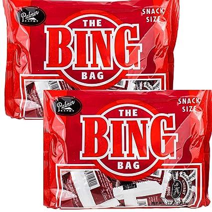 Palmers Twin Bing - Bolsa de golosinas con tapa de chocolate ...