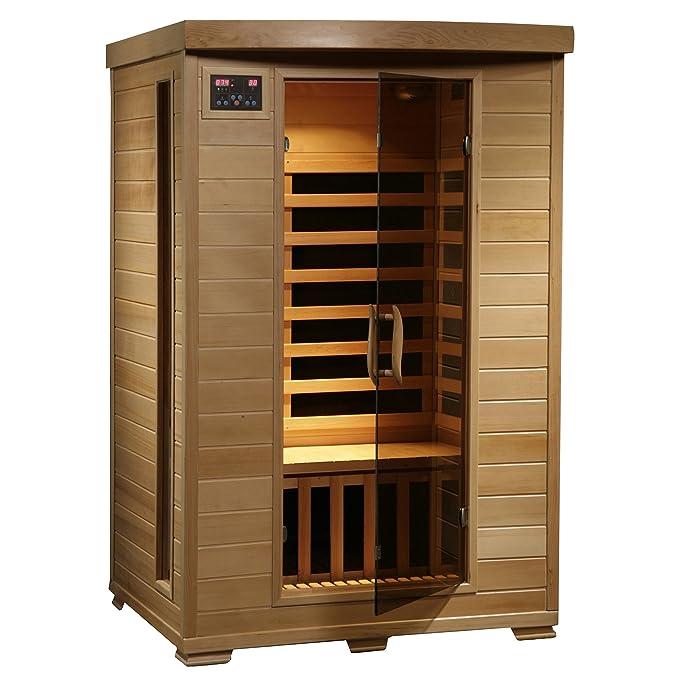 Best Infrared Sauna: Radiant Hemlock 2 – Person