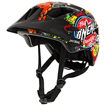 Oneal ROOKY Youth Crank Casco Bicicleta, Negro, M