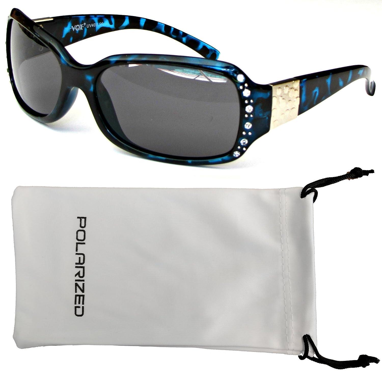 VOX Femenina Gafas de Sol Polarizadas Diseñador Moda Diamantes de ...