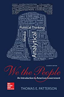We The People An Introduction To American Government Thomas E
