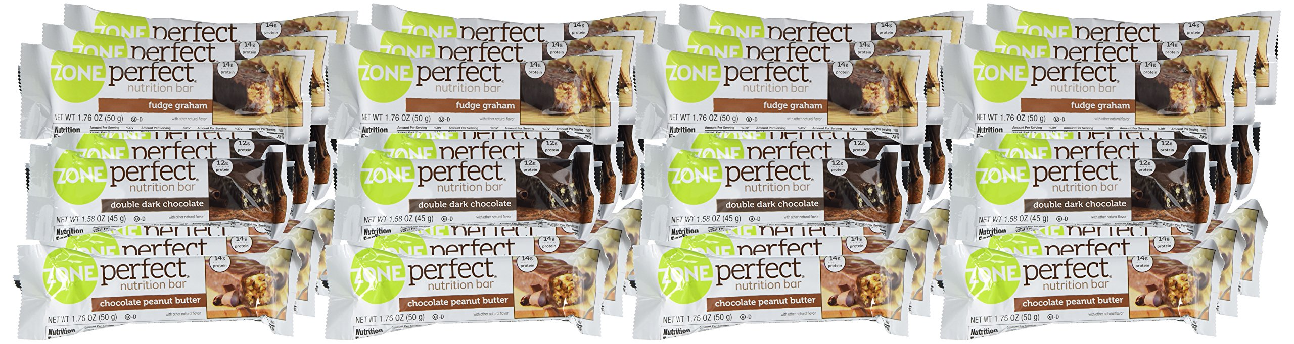 ZonePerfect Nutrition Snack Bars, Variety Pack, (36 Count) by Zoneperfect Classic (Image #1)