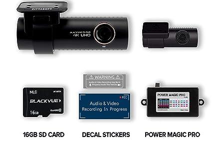 BlackVue DR900S-2CH - Cámara de vigilancia con Tarjeta Micro ...