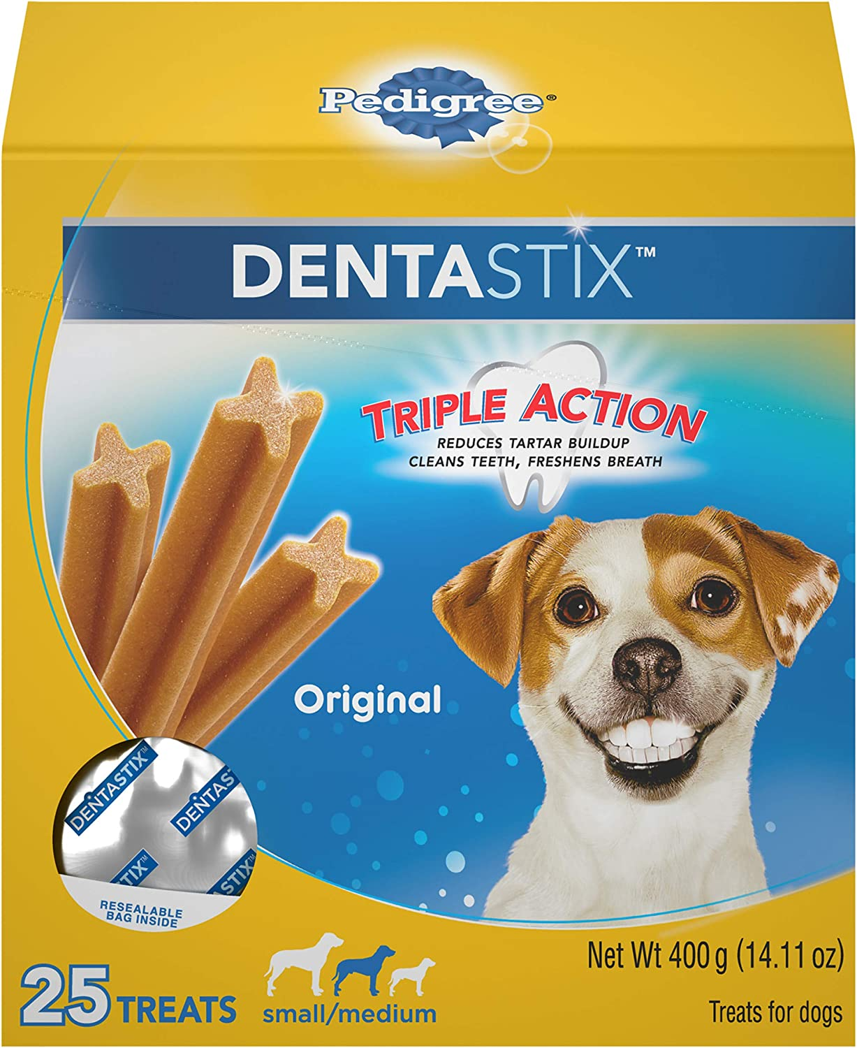 Pedigree DENTASTIX Treats for Small/Medium dogs, 15-40 lbs.