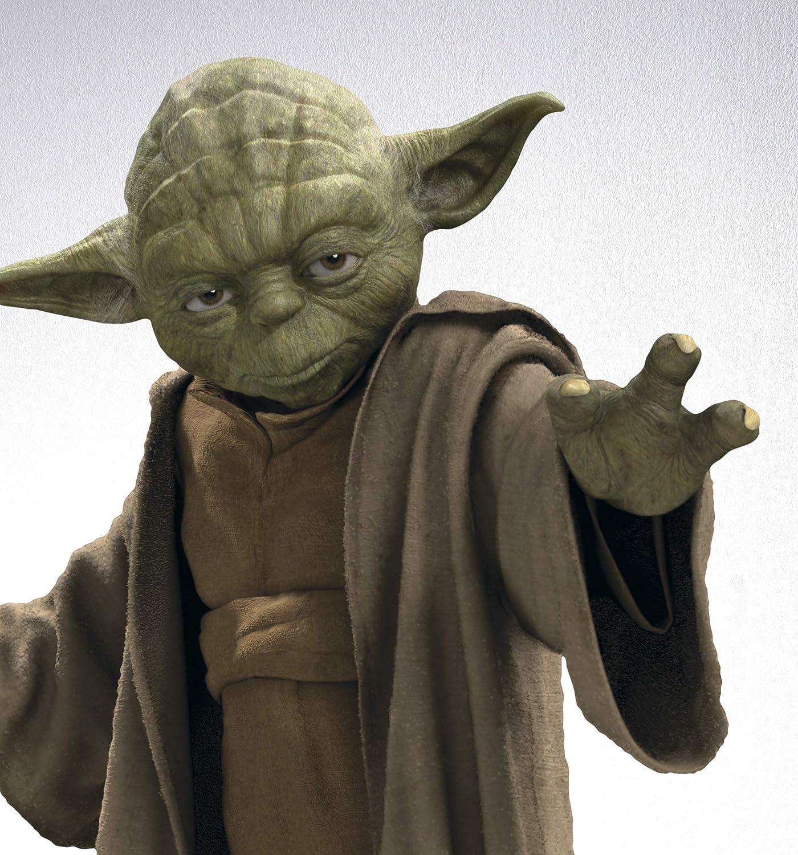 Star Wars The Child Sluster Wandtattoo Aufkleber Baby Yoda Gr/ö/ße 50 x 70 cm 14060h Sticker Dekoration Komar Mandalorian Deco-Sticker