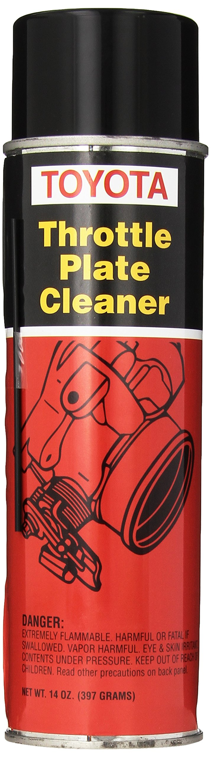 Toyota Genuine Fluid 00289-1TP00 Throttle Plate Cleaner - 14 oz. Can by Toyota