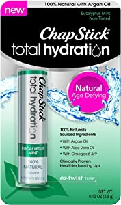 ChapStick Total Hydration Eucalyptus Mint 0.12 oz (Pack of 2)