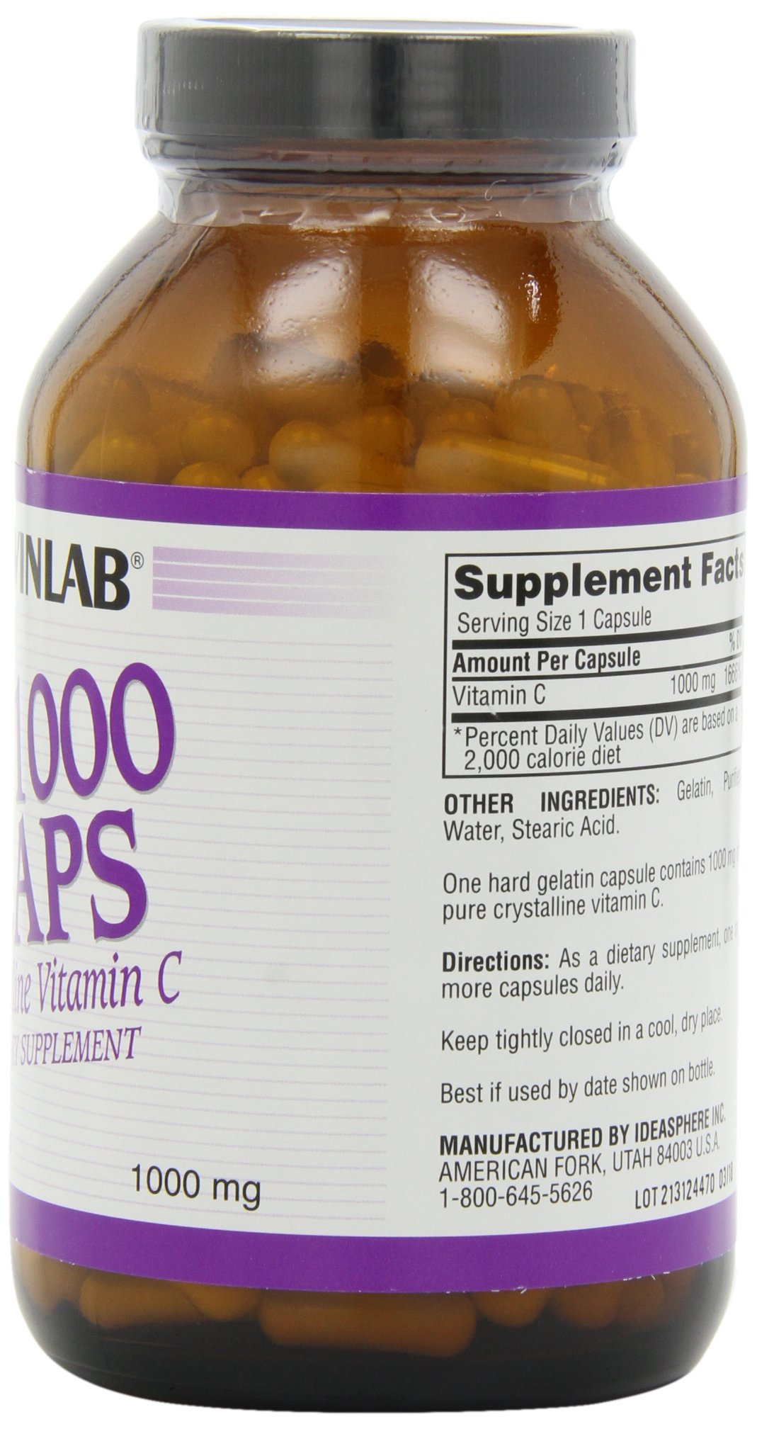 Twinlab C-1000 Caps, 1000mg, 250 Capsules (Pack of 2) by Twinlab (Image #4)