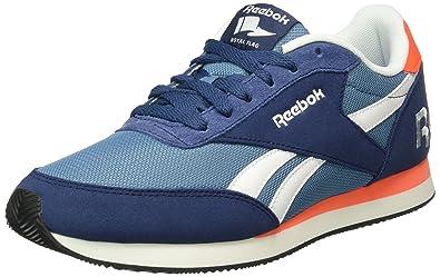 newest 527d6 83b9d Reebok Unisex-Erwachsene Royal Classic Jogger 2RS Low-Top Blau (Blue ink