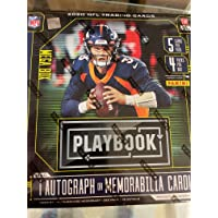 $53 » 2020 Panini Playbook NFL Trading Cards Mega Box 1 Autograph or Memorabilia Per Box New in The Box Sealed