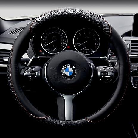 Amazon Com Car Steering Wheel Cover Automotive Interior Accessories