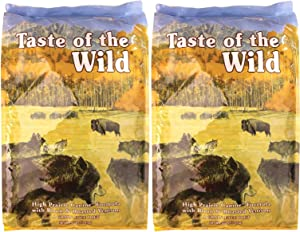 Taste of the Wild High Prairie Bison and Venison 56 Pounds