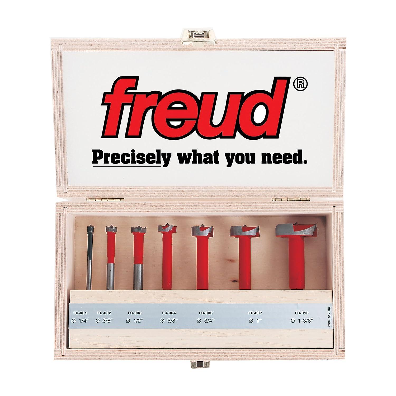 FC-002 Freud Carbide Forstner Drill Bit 3//8-Inch by 1//4-Inch Shank