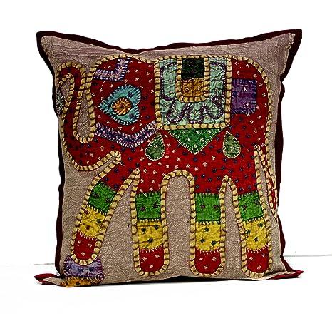 Un Antiguo Indian Home Decor diseño de elefante Patch ...