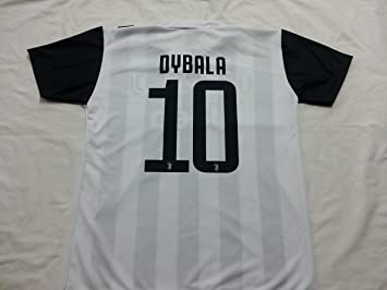 Camiseta de Fútbol PAULO DYBALA 10 Juventus NUEVA Temporada 2017-2018 Replica OFICIAL con LICENCIA - Todos Los Tamaños NIÑO y ADULTO: Amazon.es: Deportes y ...