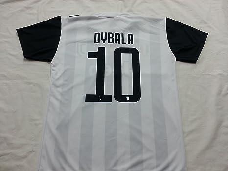 Camiseta de Fútbol PAULO DYBALA 10 Juventus NUEVA Temporada 2017-2018 Replica OFICIAL con LICENCIA