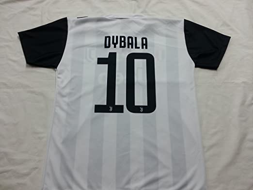 0f793df81 Soccer Football T-Shirt PAULO DYBALA 10 Juventus NEW Season 2017-2018  Official REPLICA with LICENSE - All The Sizes BOY and ADULT (2 YEARS)   Amazon.co.uk  ...