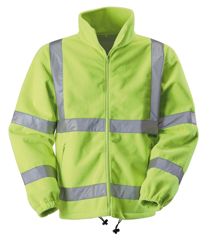 EN20471 Blackrock 80103 Yellow High Visibility Fleece Jacket Class 3
