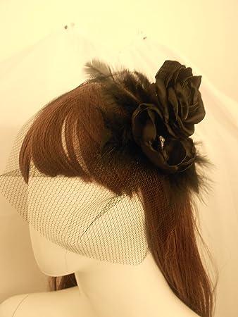 Black Birdcage Veil