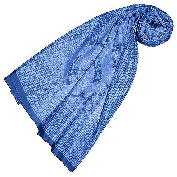 5164fee5b74 Lorenzo Cana Foulard de 65% coton et 35% soie pour la femme – écharpe