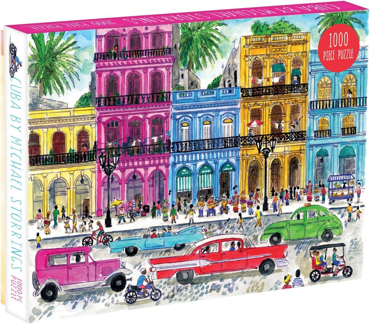 Michael Storrings Cuba 1000 Piece Puzzle: Amazon.es: Juguetes y juegos