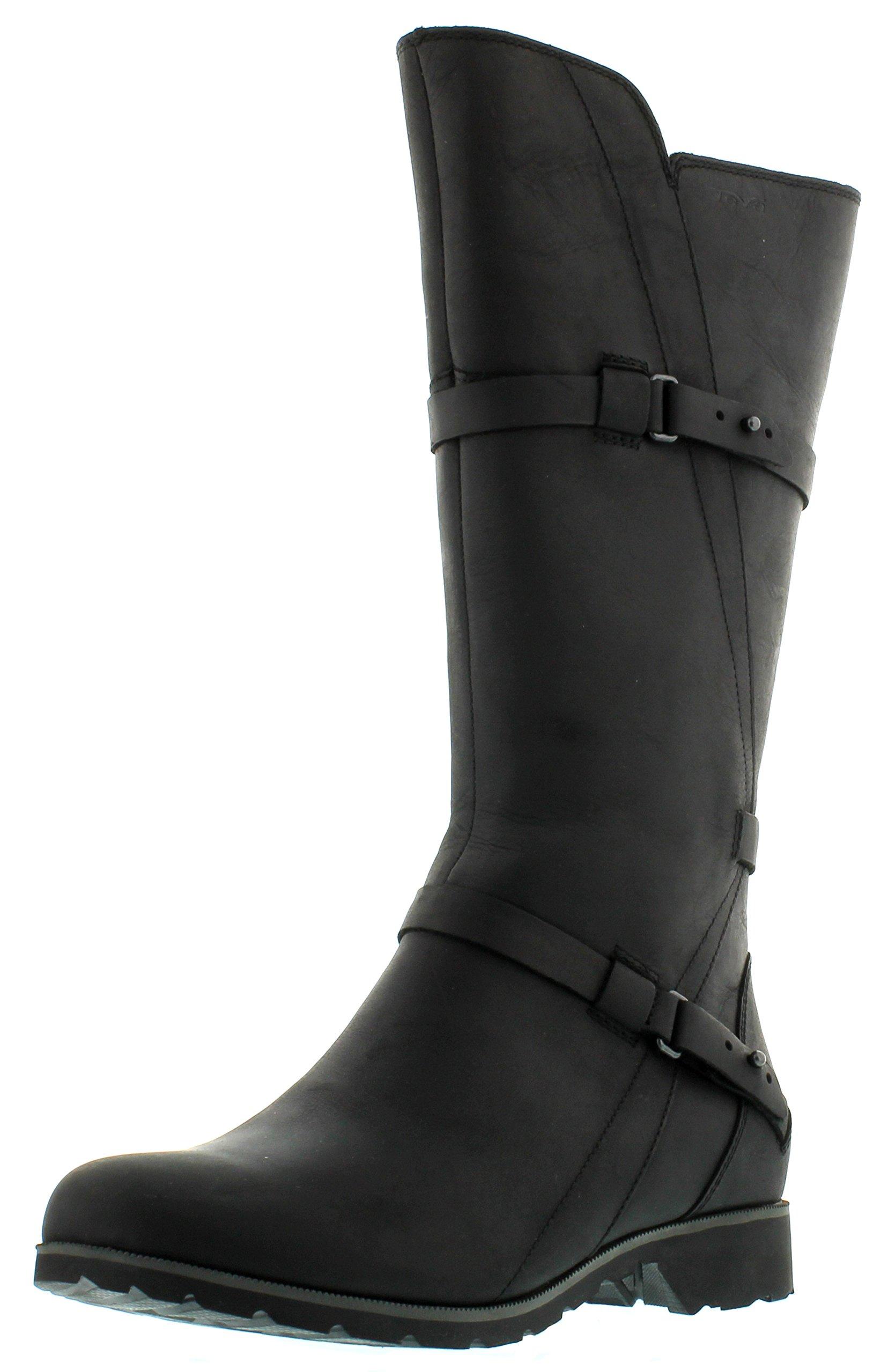 Teva Women's De La Vina Boot,Black,8 M US