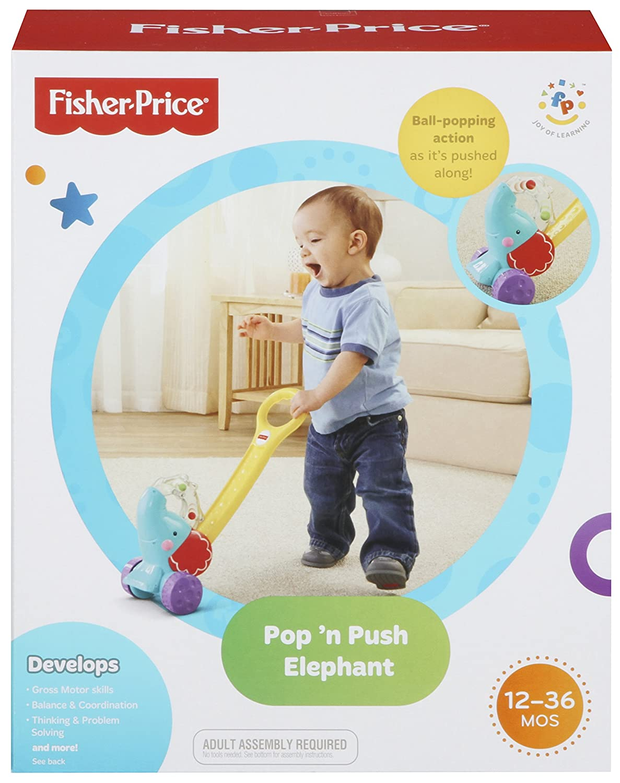 Fisher-Price - Elefantito pelotas saltarinas (Mattel Y8651) M03169