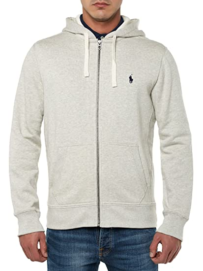2c10ae9fe1548 POLO RALPH LAUREN Men s Ls Fz Hood Pkt Ppc Sports Hoodie  Amazon.co ...