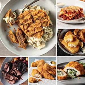 Deluxe Meals Assortment from Omaha Steaks (Chicken Fried Steaks, Fully Cooked Pot Roast, Italian Chicken Fingers, Broccoli & Cheese Stuffed Chicken Breasts, Pub-Style Cod, and more)