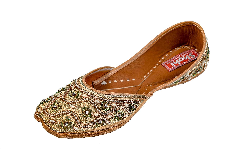SHAHI PUNJABI FOOTWEAR Brown Ethnic