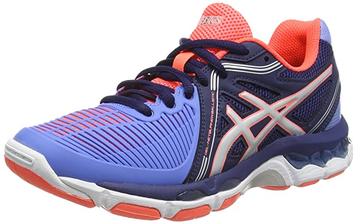 9c9a739ec9 ASICS Gel-Netburner Ballistic, Women's Volleyball Shoes, Blue (Columbia  Blue/Silver/Navy-6193), US 13, UK 11, EU 46: Amazon.co.uk: Shoes & Bags