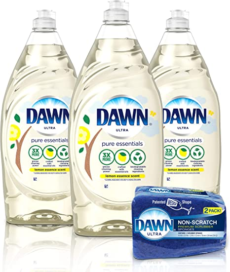 Amazon.com: Dawn Dawn Pure Essentials - Jabón líquido para ...
